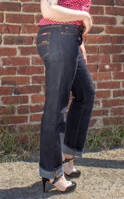 Rumble59 Ladies Denim - Garage Gal - Straight Cut von Rockabilly Rules