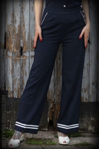 Rumble59 Ladies - Sailor Marlenehose von Rockabilly Rules