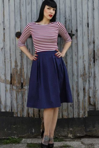 Rumble59 Ladies - Sailor Swingkleid - All hands on deck! von Rockabilly Rules