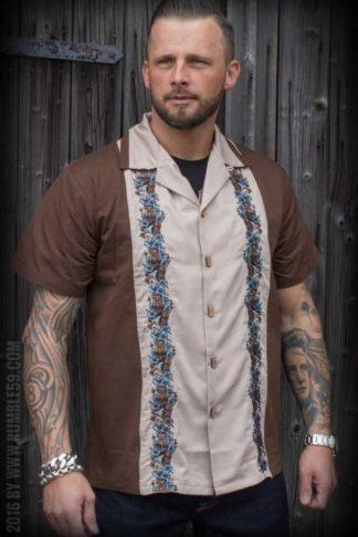 Rumble59 - Lounge Shirt - Aloha Tiki von Rockabilly Rules