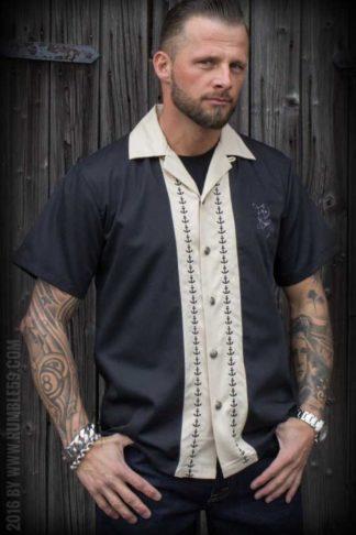 Rumble59 - Lounge Shirt - Let go anchor von Rockabilly Rules