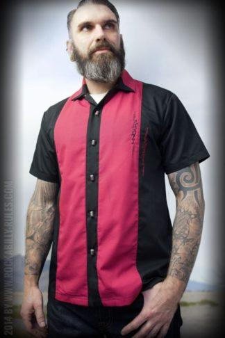 Rumble59 - Lounge Shirt - Singin' Skulls von Rockabilly Rules