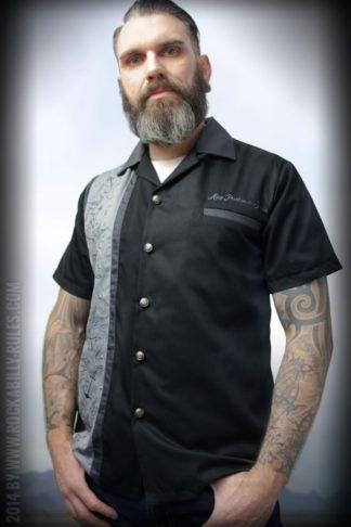 Rumble59 - Lounge Shirt - Swallows 'n' Anchors von Rockabilly Rules