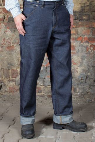 Rumble59 - RAW Loose Fit Denim - Dapper Workman von Rockabilly Rules
