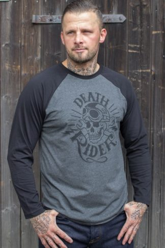 Rumble59 - Raglanshirt - Death Rider von Rockabilly Rules
