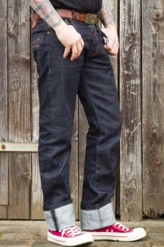 Rumble59 - Raw Denim - Blue Burning Blacktop von Rockabilly Rules