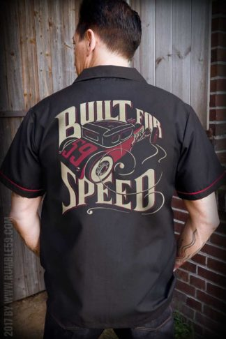 Rumble59 - Worker Shirt - Built for speed von Rockabilly Rules