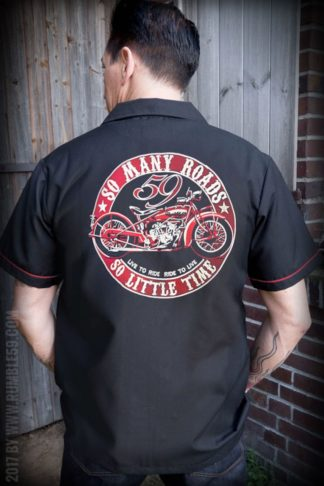 Rumble59 - Worker Shirt - Many Roads - Little Time von Rockabilly Rules