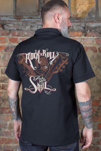 Rumble59 - Worker Shirt - R'n'R rules my soul von Rockabilly Rules