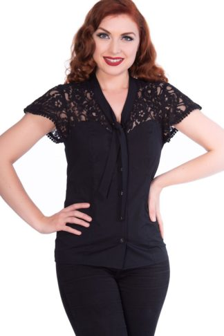 Sheen Clothing Bluse Tammy von Rockabilly Rules