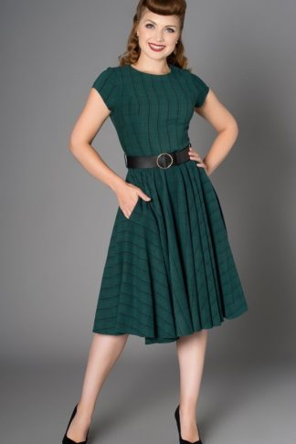 Sheen Clothing Kleid Florence Plaid von Rockabilly Rules