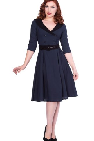 Sheen Clothing Kleid Midnight Romie von Rockabilly Rules