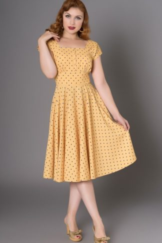 Sheen Clothing Polkadot Kleid Zafira von Rockabilly Rules