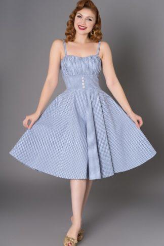Sheen Clothing Sommer Kleid Melissendre Vichy von Rockabilly Rules