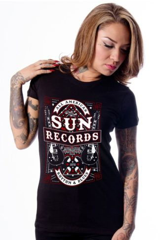 Steady Ladies T-Shirt - Sun Records All American von Rockabilly Rules