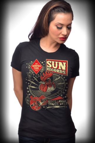 Steady Ladies T-Shirt - Sun Records Hop von Rockabilly Rules