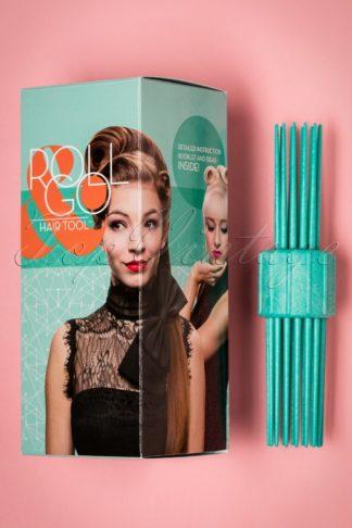 Vintage Hairstyling: RollGo Pin Curl Hair Tool Set