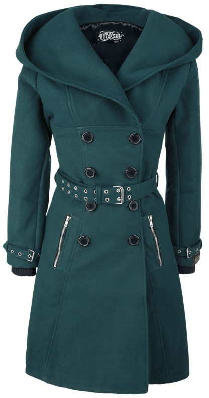 Vixxsin Decay Coat Wintermantel Petrol