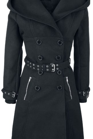 Vixxsin Decay Coat Wintermantel schwarz