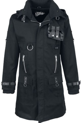 Vixxsin Eclusion Coat Wintermantel schwarz