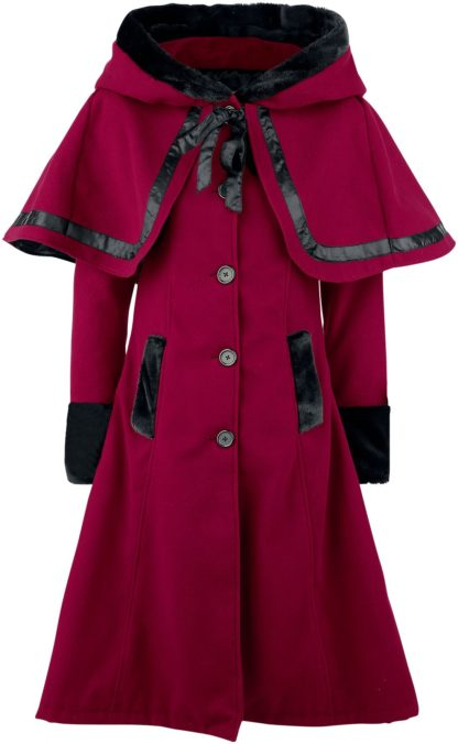 Vixxsin Elena Coat Wintermantel rot