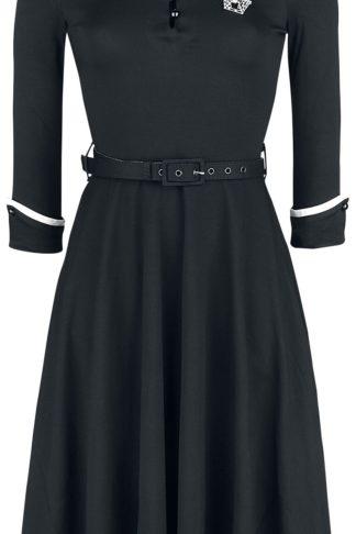 Voodoo Vixen Acid Doll Dark Sacrement Dress Kurzes Kleid schwarz