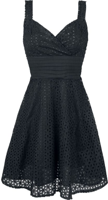 Voodoo Vixen Billie Blush Kurzes Kleid schwarz
