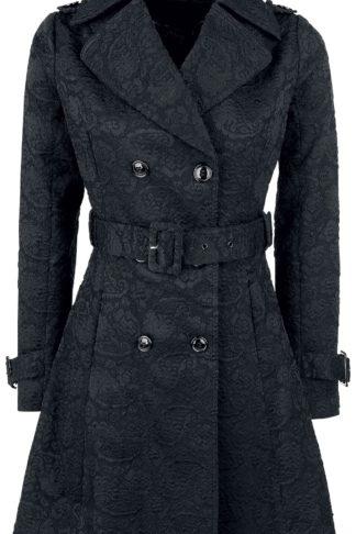 Voodoo Vixen Susan Coat Kurzmantel schwarz