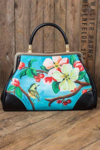 Woody Ellen Pin-Up Handtasche Blossom von Rockabilly Rules