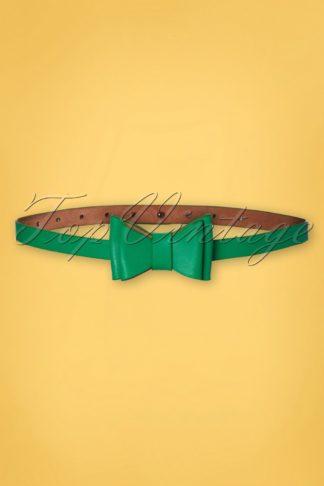 50s Bow Belt in Green