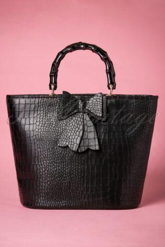 50s Brunei Handbag in Black