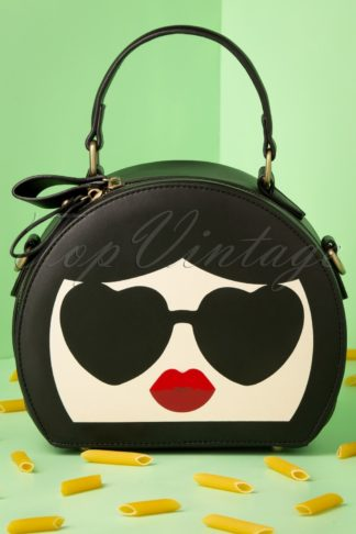 50s Odette Goes To Italy Bag in Black