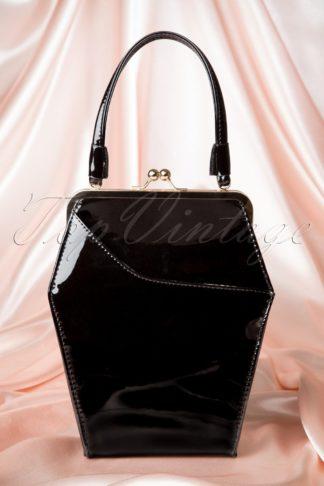 50s To Die For Handbag In Black