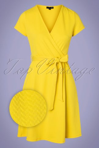 60s Ciana Dress in Yellow
