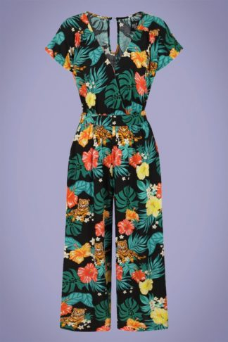 70s Bali Jumpsuit in Black