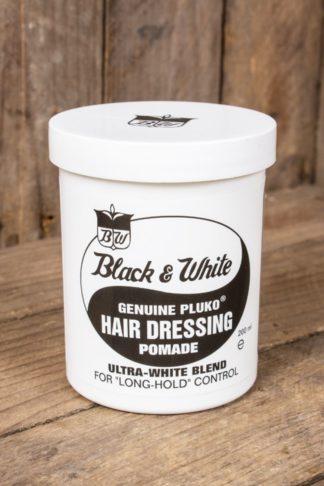 Black & White Hair Dressing Pomade von Rockabilly Rules
