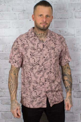 Chet Rock Hawaiihemd Bird Floral Shirt von Rockabilly Rules