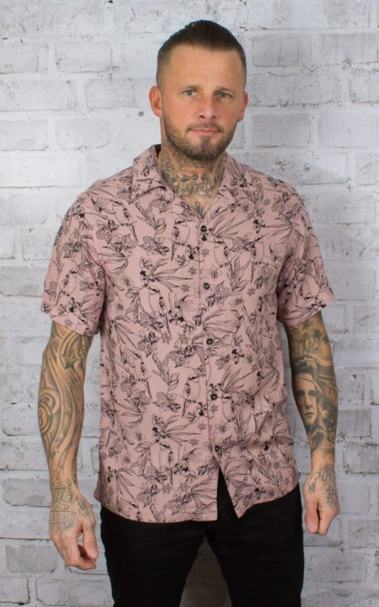 Chet Rock Hawaiihemd Bird Floral Shirt von Rockabilly Rules