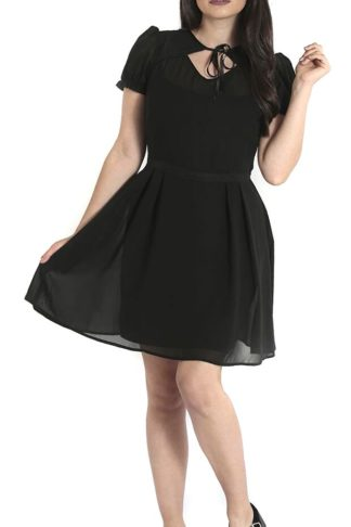 Hell Bunny Aria Mini Dress Kurzes Kleid schwarz