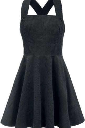 Hell Bunny Wonder Years Pinafore Dress Kurzes Kleid schwarz