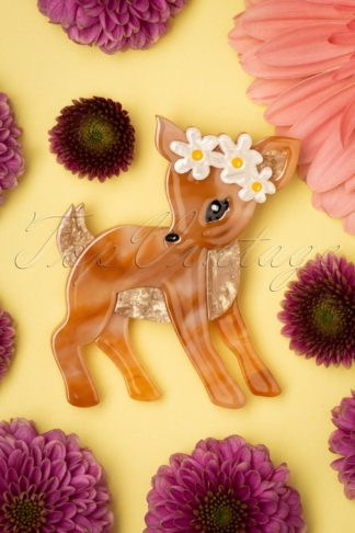 TopVintage exclusive ~ 60s Buttercup Brooch