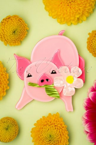 TopVintage exclusive ~ 60s Wilbur the Wonder Pig Brooch