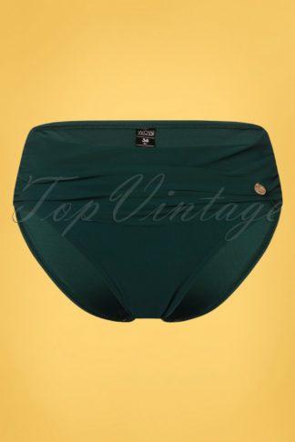 50s Flipover Bikini Brief in Sea Moss Green