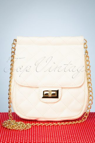 50s Pure Love Bag in Ivory White