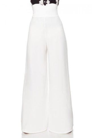 Belsira Marlenehose Weiß