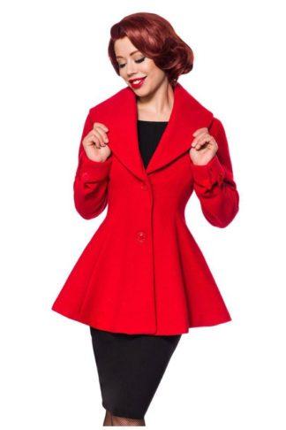 Belsira Vintage Übergangsjacke Rot