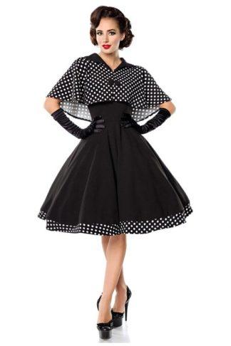 Belsira Vintage Cape Kleid