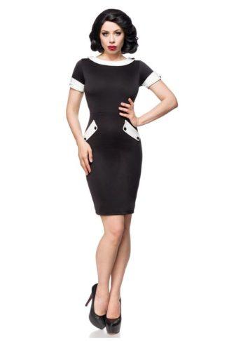 Belsira Vintage Jersey Kleid