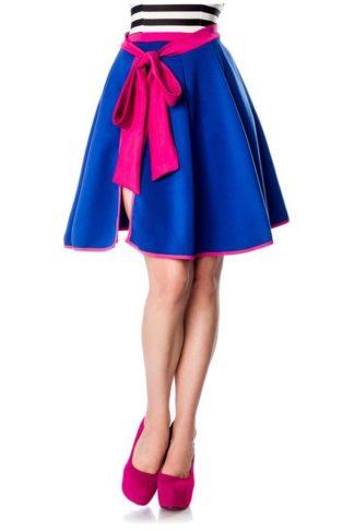 Belsira Wickelrock Blau Pink