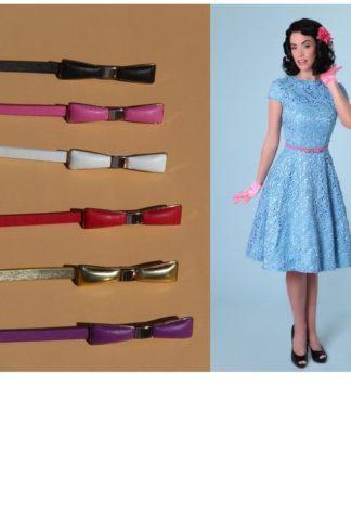 Belt Metal Bow versch. Farben